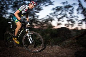 Jason English claimed his fifth consecutive JetBlack WSMTB 12 Hour title at Dargle Farm. Photo: Outer Image Collective