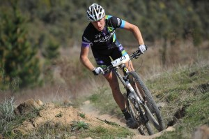 Troy Herfoss wins his first endurance mountain bike race at Stromlo Forest Park with Rocky Trail. Photo: OuterImage.com.au