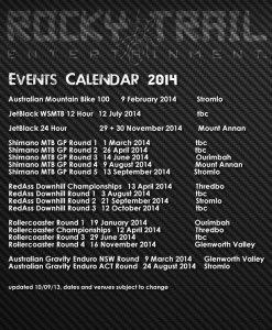 RTE events calendar 2014 V2