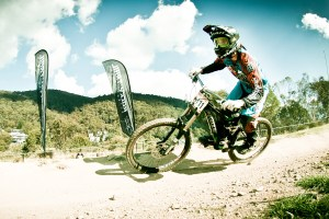 National Downhill Champion Danielle Beecroft, junior ambassador for mountain biking in Australia. Photo: Ales Matousek