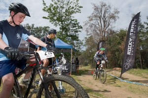 Rocky Trail timing at the first King's Mountain Bike Classic.