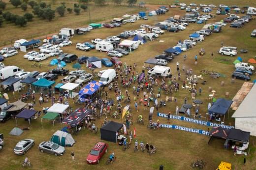Event centre SHIMANO MTB GP at James Estate in 2014. Photo: OuterImage.com.au