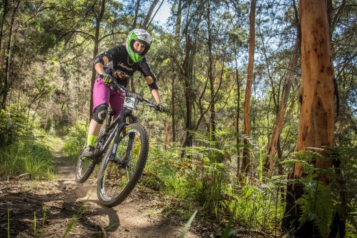 Vanessa Thompson, second place at Del Rio in the elite women's division. Photo: OuterImage.com.au