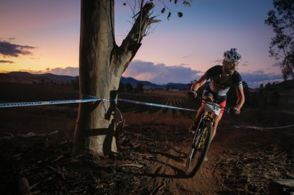 Singlespeed winner: Brett Bellchambers.