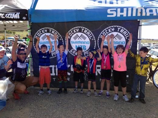 Kids fun at Rocky Trail races!