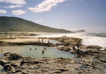 Champagne-Pools, Fraser Island