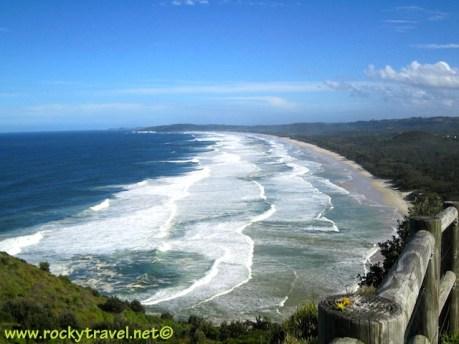 Tallow Beach stunning view