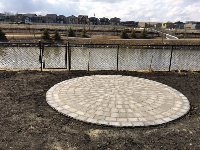 Airdrie Round Patio