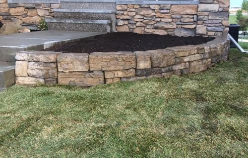 Flower Bed Construction | Sod