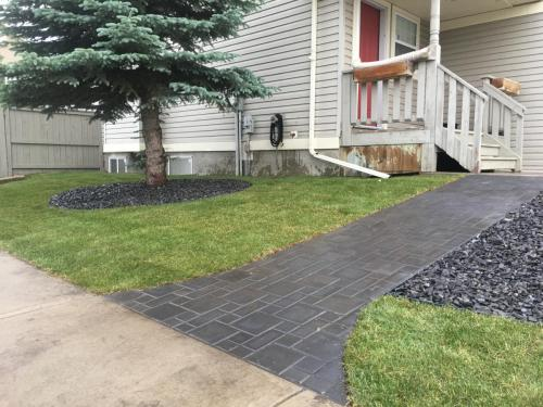 Holland Paver sidewalk