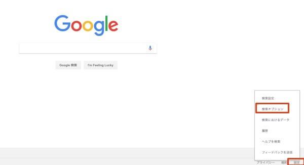 Google検索オプション