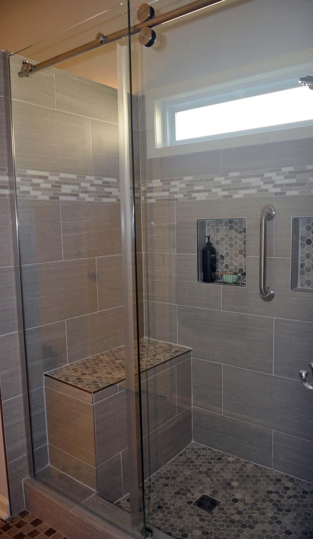 mosaic tile bathroom mount airy