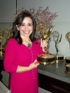 Rose-with-one-of-Marthas-Emmy-Awards1
