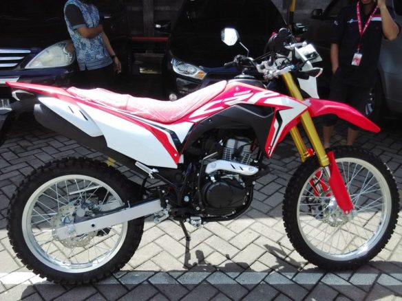 Honda crf 150l makassar