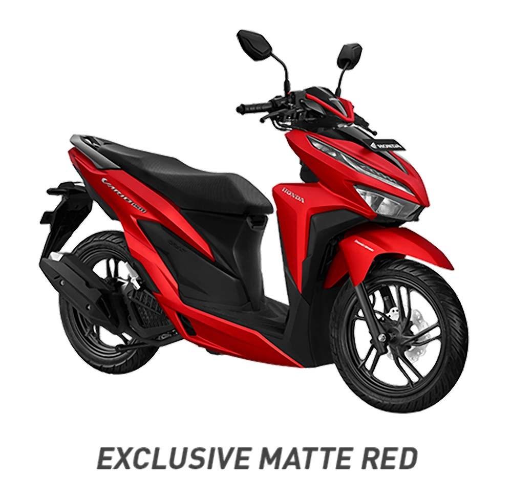 Warna-Vario-150-Merah-Doff-