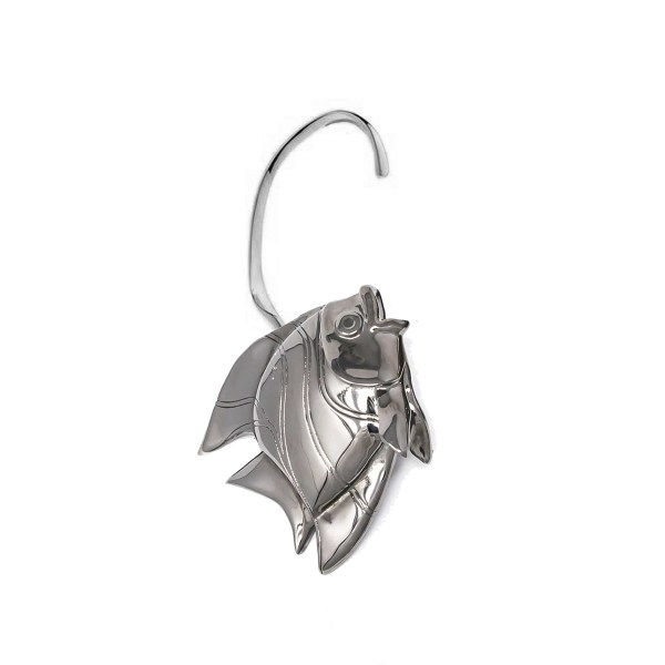 Earring Fish Love Gun Metal SCH 467-2-right