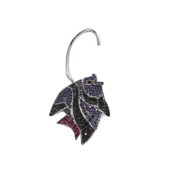 Earring Fish Love Violet SCH 452-1-right