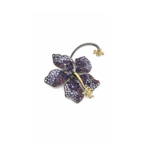 Earring Guillermina Violet - SCH 455-2-right