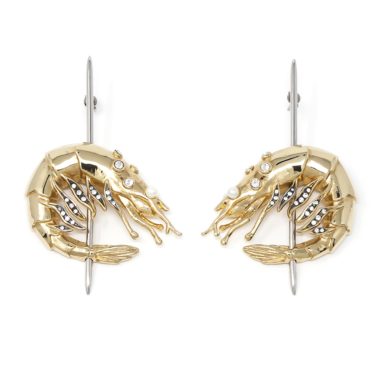 Earring Tapeo Gold Cream Pearls SCH 328-1