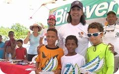 1-Competidores Optimist Clase Blanca