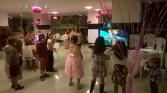 Jogos no salão de festas