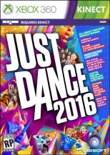 Just Dance 2016 xbox 360 cover