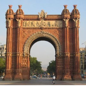 Arco del Triunfo Barcelona Clases de Patinaje Rodats