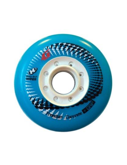 RUEDAS CONCRETE +G 80MM 84A (4 UNID) - Azul-claro