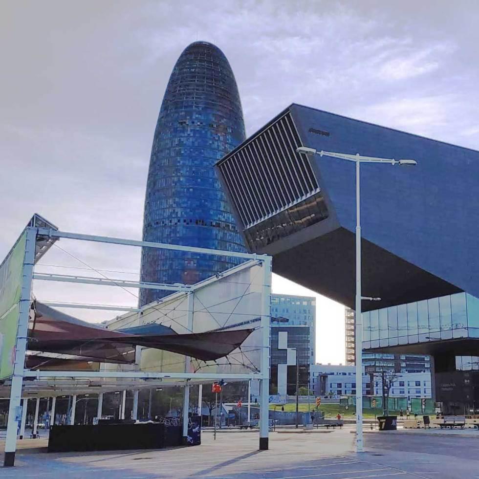 Plaza de las Glorias de Barcelona