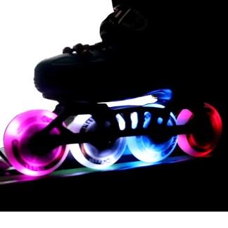 Ruedas luces patines inline KRF