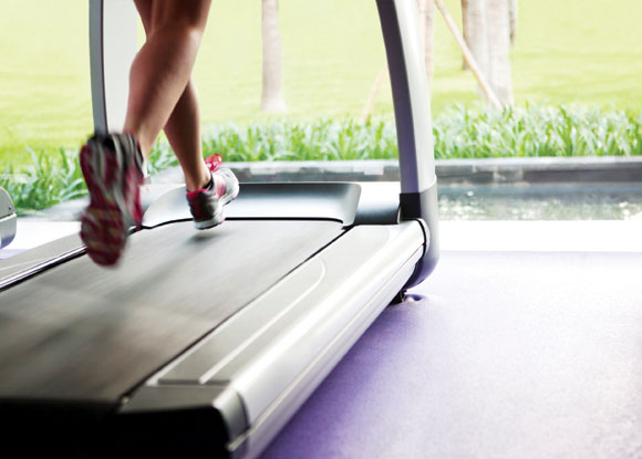 Image result for treadmill outside