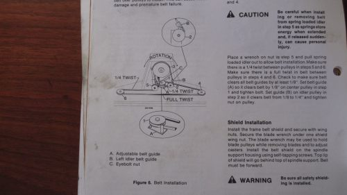 small resolution of wiring diagram for exmark mowers best wiring librarywoods mower rm48ym 2 how to change the belt