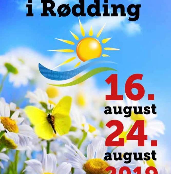Sommerfest i Rødding