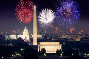 Independence Day Fireworks Washington D.C.