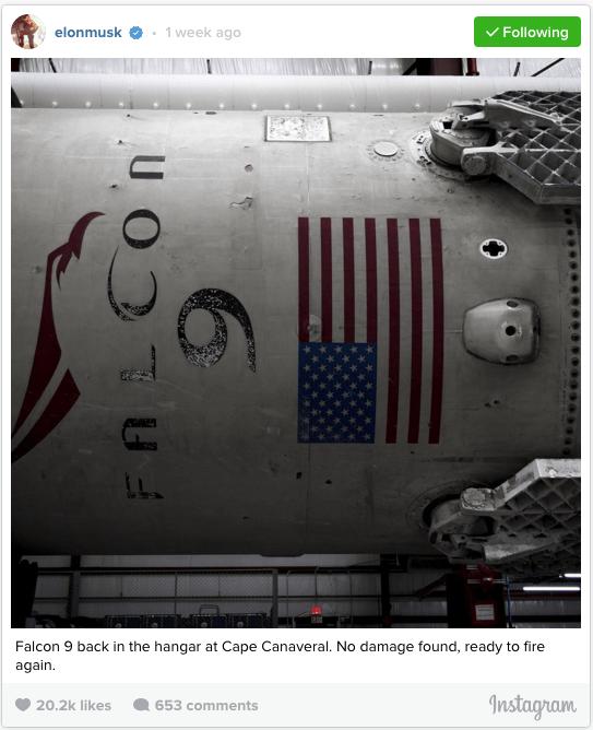 Elon Instagram