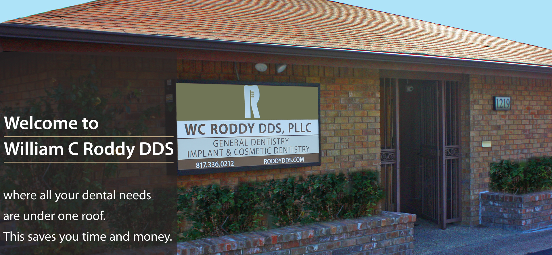 Image of WC Roddy DDS, PLLC exterior