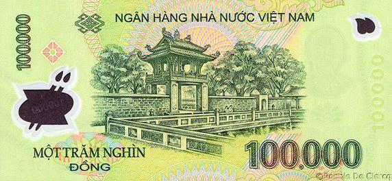 100.000 Vietnamese Dong
