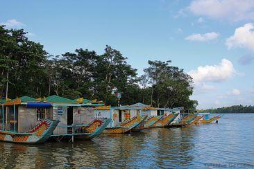 Tocht met een Drakenboot (3)
