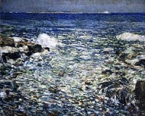 Childe Hassam - Shoals-eiland - 1913