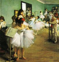 Edgar Degas - De dansklas