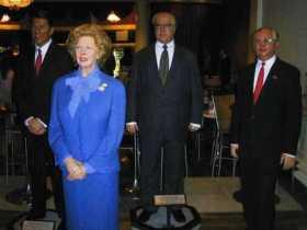Mme Tussaud 13 (Thatcher, Reagan, Kohl & Gorbatsjov)