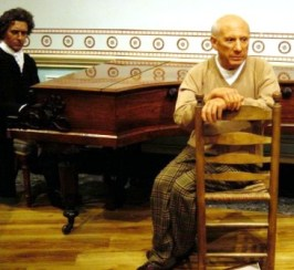 Mme Tussaud 37 (Picasso & Beethoven)