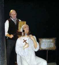 Mme Tussaud Chamber of horrors 10