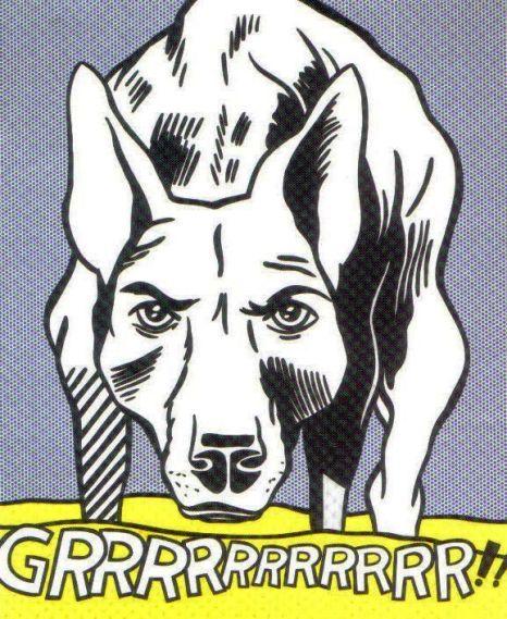 Roy Liechtenstein - Grrrrrrrrrrrr!! - 1965