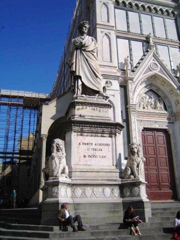 Santa Croce 04 (beeld van Dante)