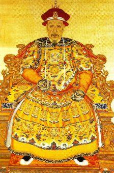 Verboden Stad 15 (portret van keizer Qianlong)