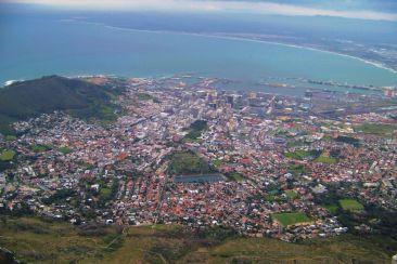 Tafelberg 10 (zicht op Tafelberg)