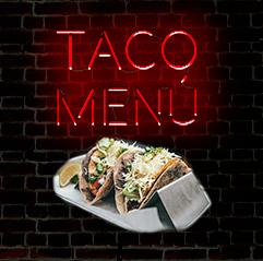 Taco menú