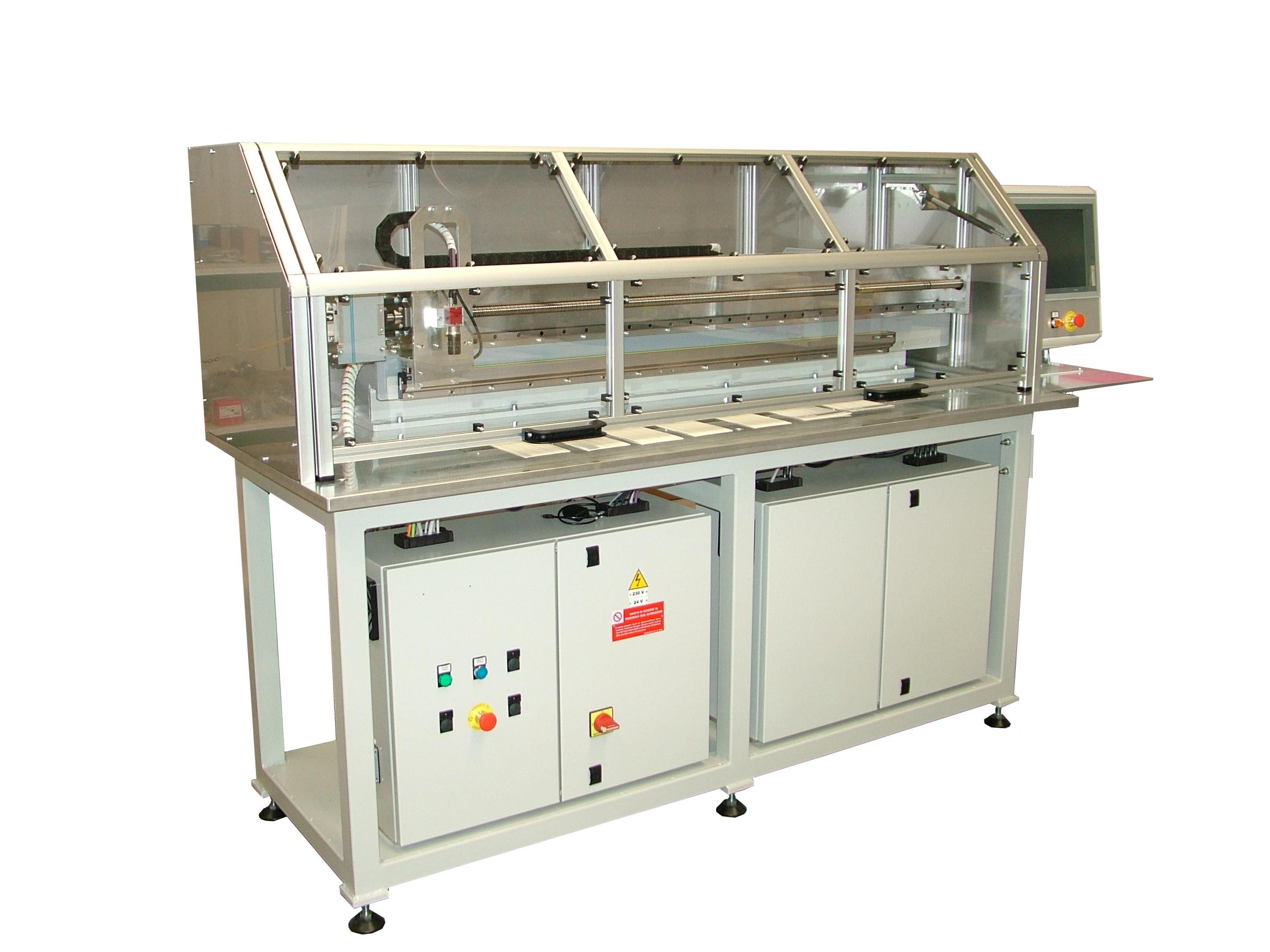 sistemi per il controllo di formato carta e la misura di larghezza