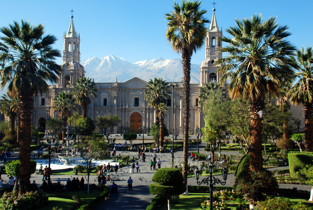 Image result for arequipa peru plaza